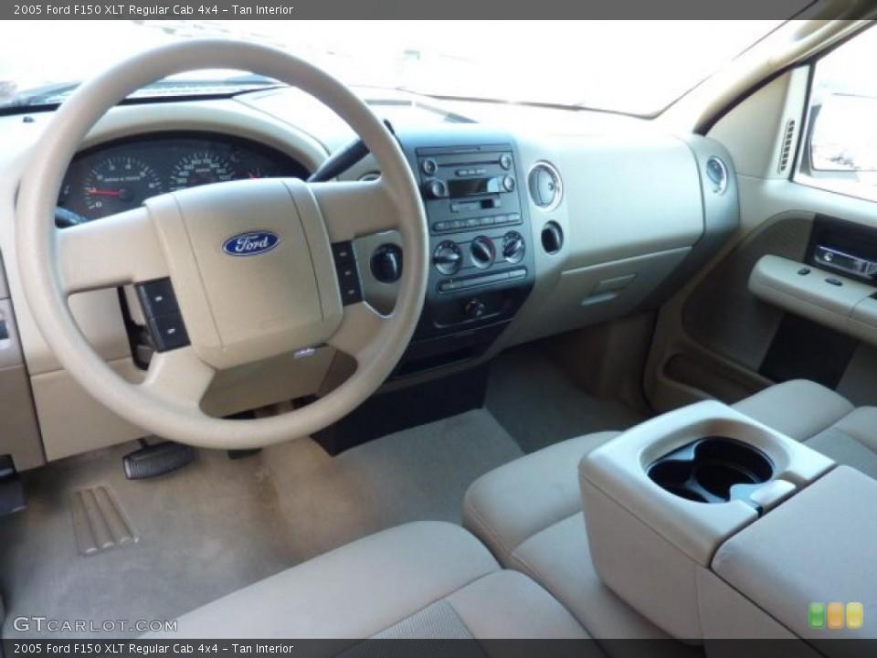 Tan 2005 Ford F150 Interiors