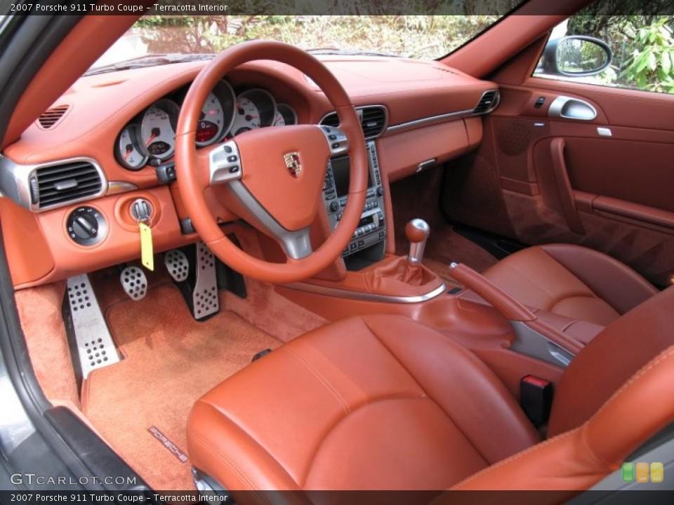 Terracotta Interior Photo for the 2007 Porsche 911 Turbo Coupe #47145567