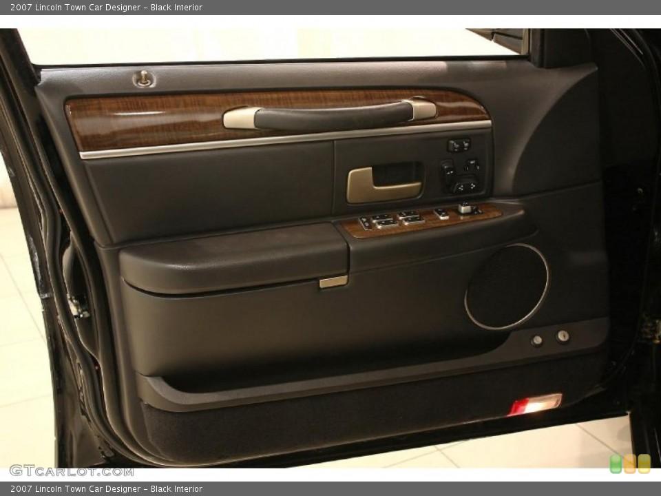 Car Interior Door Panel Designs Black Interior Door Panel For