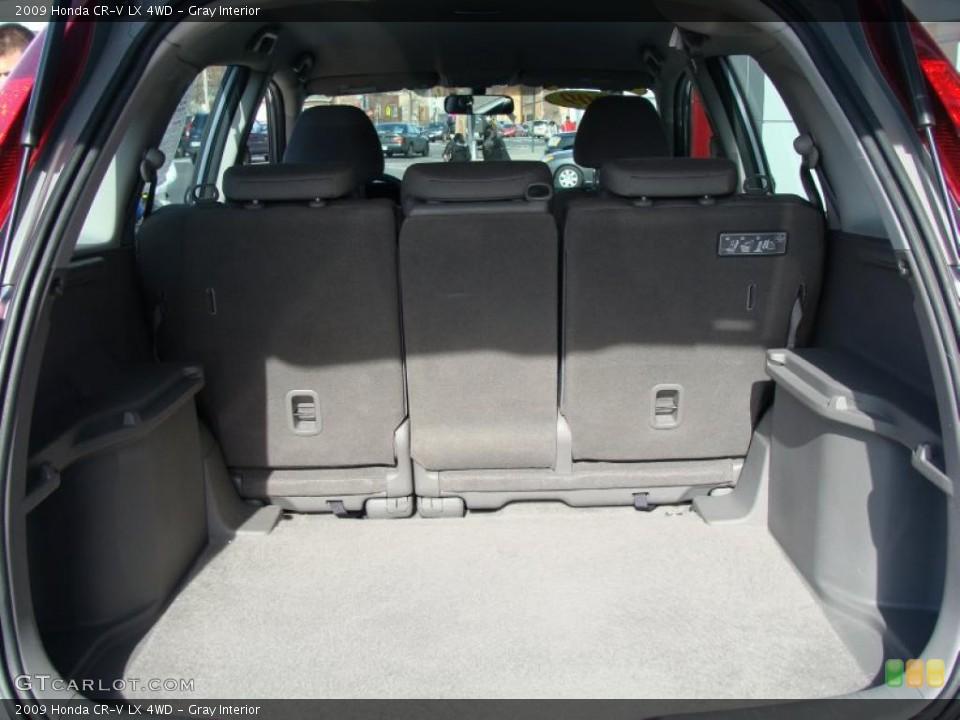 Gray Interior Trunk for the 2009 Honda CR-V LX 4WD #47215235
