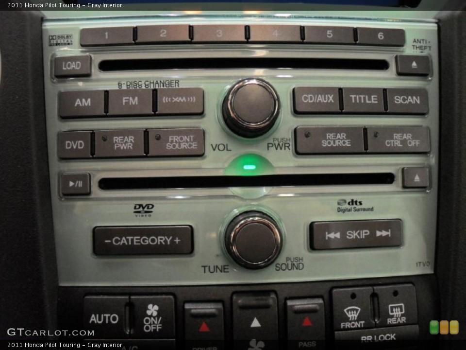 Gray Interior Controls for the 2011 Honda Pilot Touring #47279352