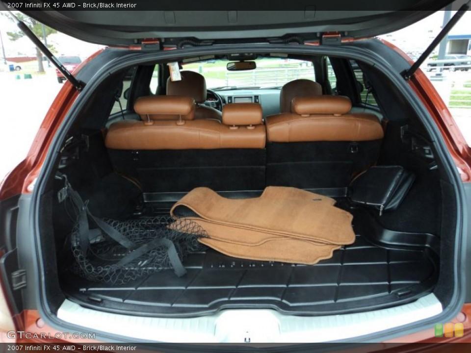 Brick/Black Interior Trunk for the 2007 Infiniti FX 45 AWD #47299976