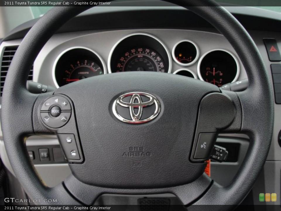 Graphite Gray Interior Steering Wheel for the 2011 Toyota Tundra SR5 Regular Cab #47314901