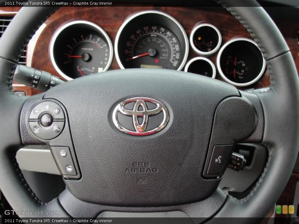 Graphite Gray Interior Steering Wheel for the 2011 Toyota Tundra SR5 CrewMax #47318660