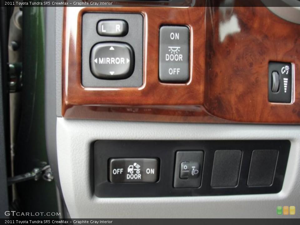 Graphite Gray Interior Controls for the 2011 Toyota Tundra SR5 CrewMax #47318690