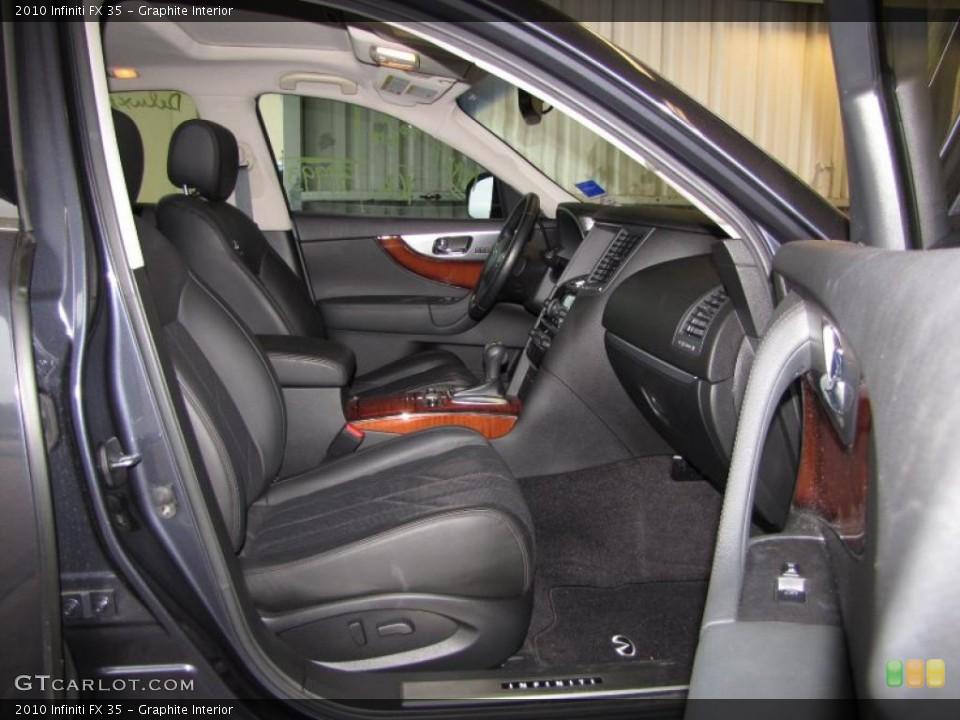 Graphite Interior Photo for the 2010 Infiniti FX 35 #47333080