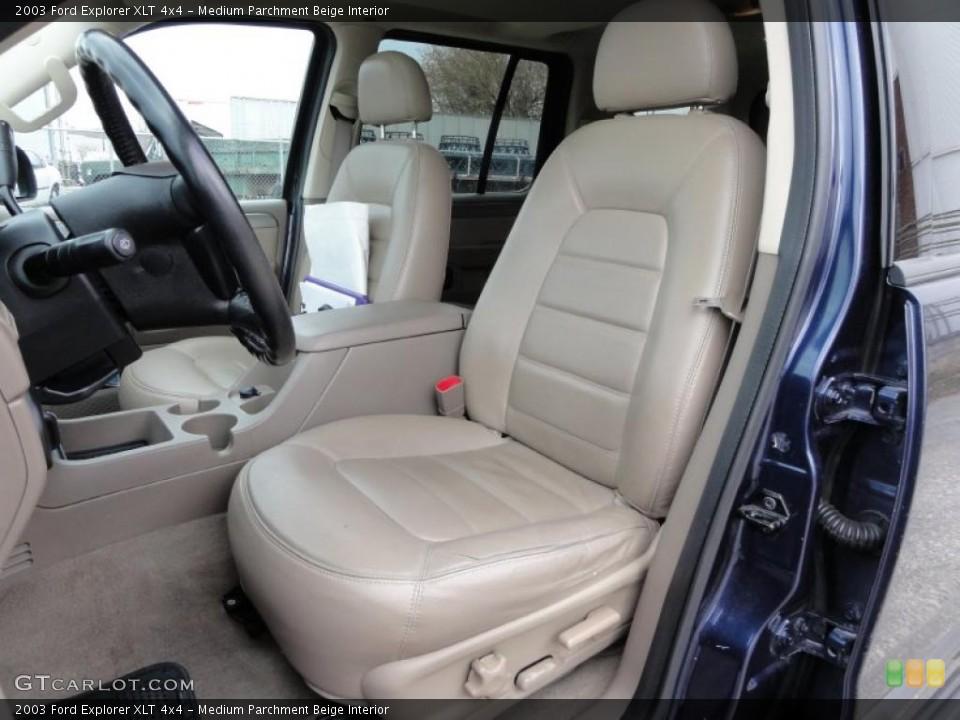 Medium Parchment Beige Interior Photo for the 2003 Ford Explorer XLT 4x4 #47511553