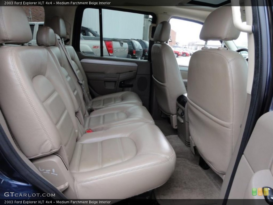 Medium Parchment Beige Interior Photo for the 2003 Ford Explorer XLT 4x4 #47511622