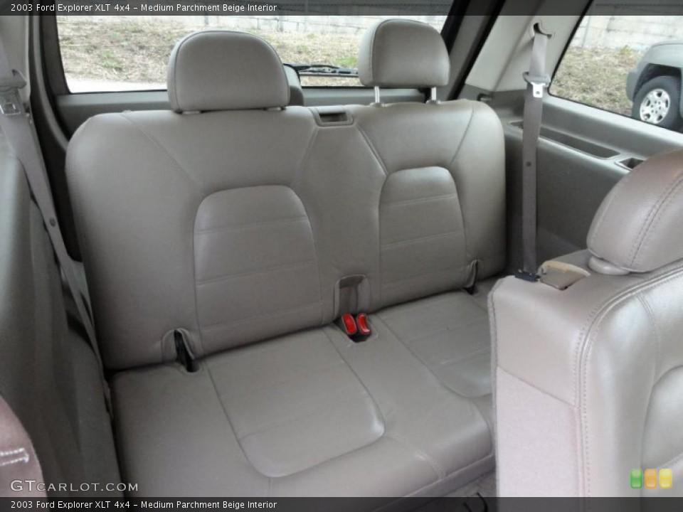 Medium Parchment Beige Interior Photo for the 2003 Ford Explorer XLT 4x4 #47511640