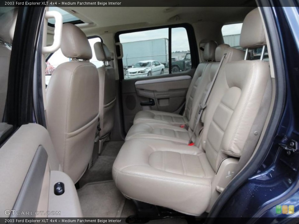 Medium Parchment Beige Interior Photo for the 2003 Ford Explorer XLT 4x4 #47511655