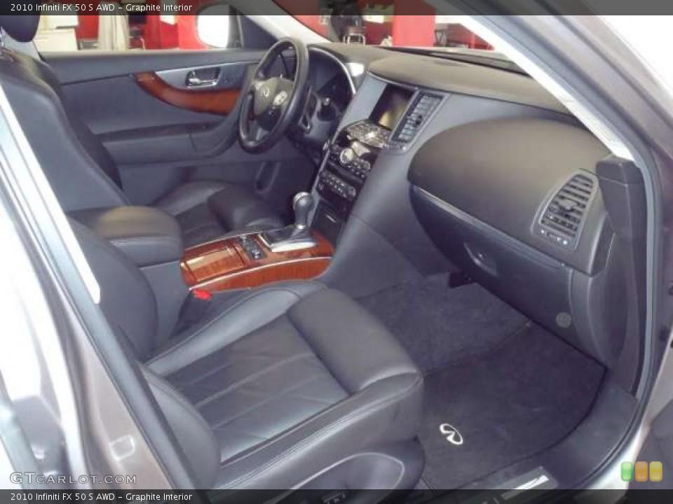 Graphite Interior Photo for the 2010 Infiniti FX 50 S AWD #47542205