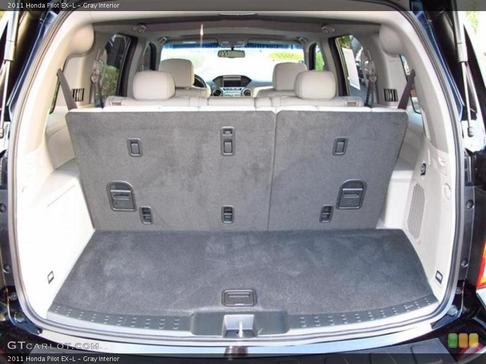 Gray Interior Trunk for the 2011 Honda Pilot EX-L #47611550