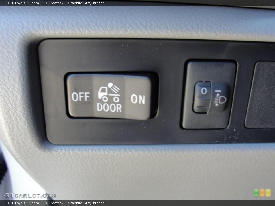 Graphite Gray Interior Controls for the 2011 Toyota Tundra TRD CrewMax #47630972