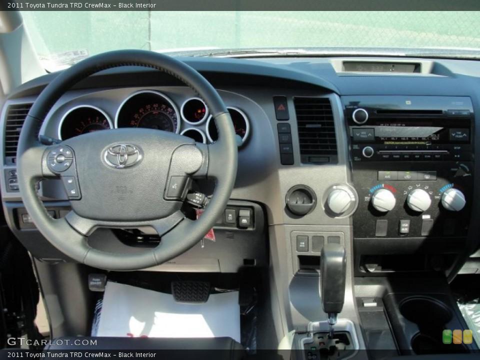 Black Interior Dashboard for the 2011 Toyota Tundra TRD CrewMax #47631338