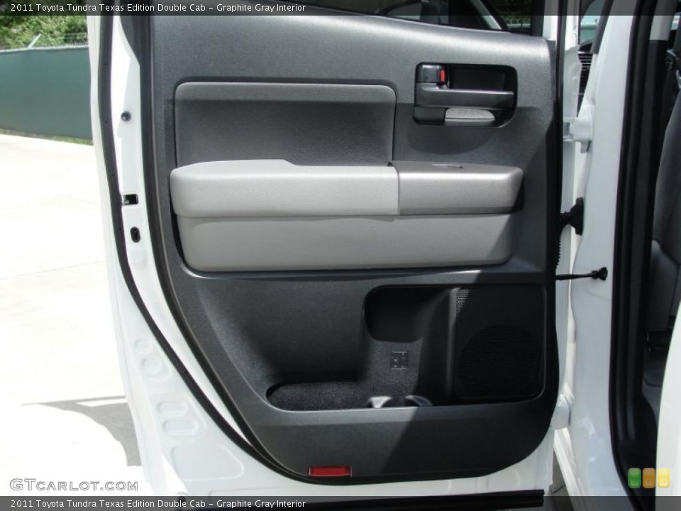 Graphite Gray Interior Door Panel for the 2011 Toyota Tundra Texas Edition Double Cab #47669035