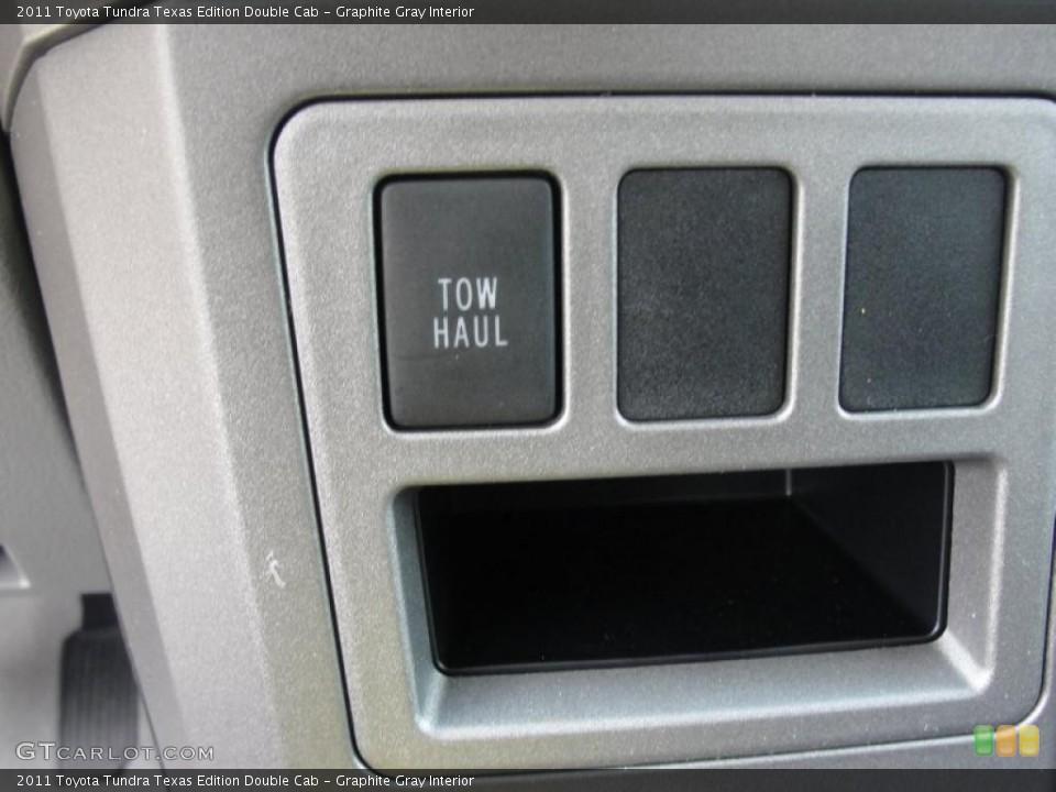 Graphite Gray Interior Controls for the 2011 Toyota Tundra Texas Edition Double Cab #47669206