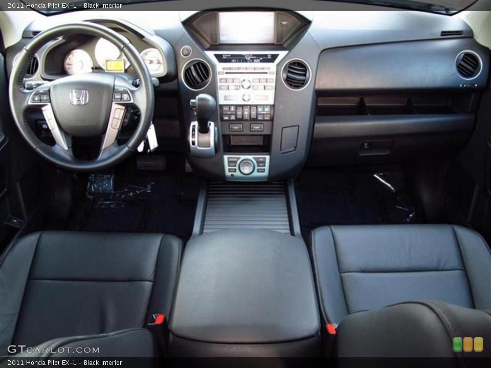 Black Interior Photo for the 2011 Honda Pilot EX-L #47740357