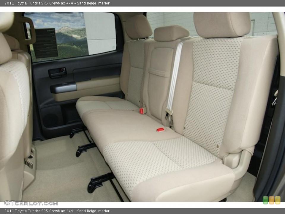 Sand Beige Interior Photo for the 2011 Toyota Tundra SR5 CrewMax 4x4 #47983424