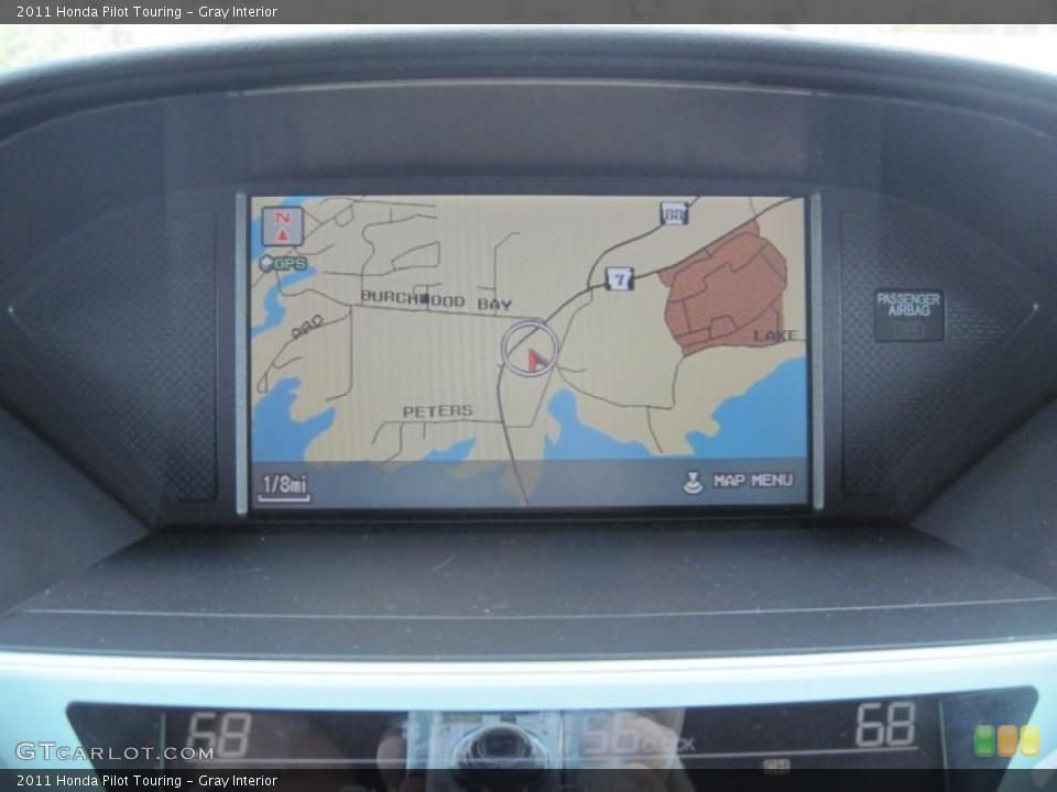 Gray Interior Navigation for the 2011 Honda Pilot Touring #48003600