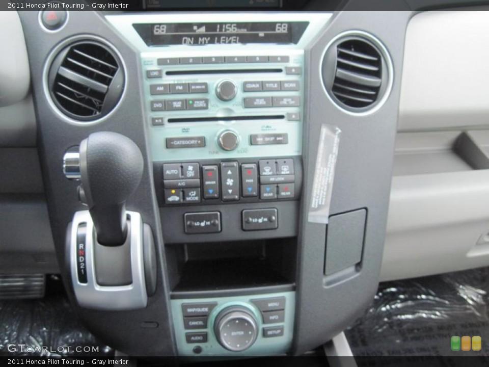 Gray Interior Controls for the 2011 Honda Pilot Touring #48003612