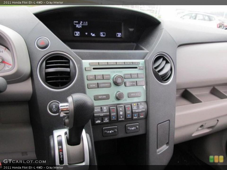 Gray Interior Controls for the 2011 Honda Pilot EX-L 4WD #48021543