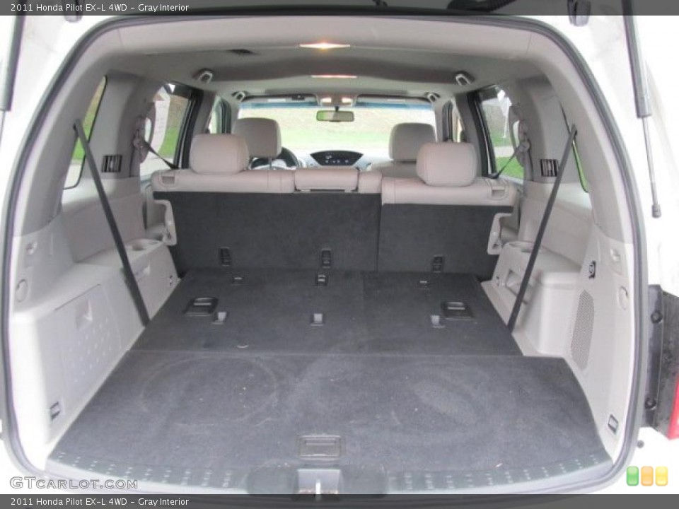 Gray Interior Trunk for the 2011 Honda Pilot EX-L 4WD #48021594