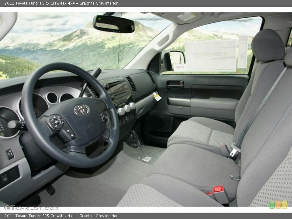 Graphite Gray Interior Photo for the 2011 Toyota Tundra SR5 CrewMax 4x4 #48047095