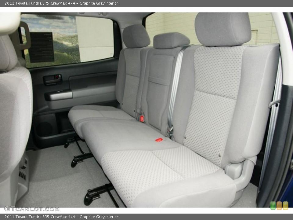Graphite Gray Interior Photo for the 2011 Toyota Tundra SR5 CrewMax 4x4 #48047161