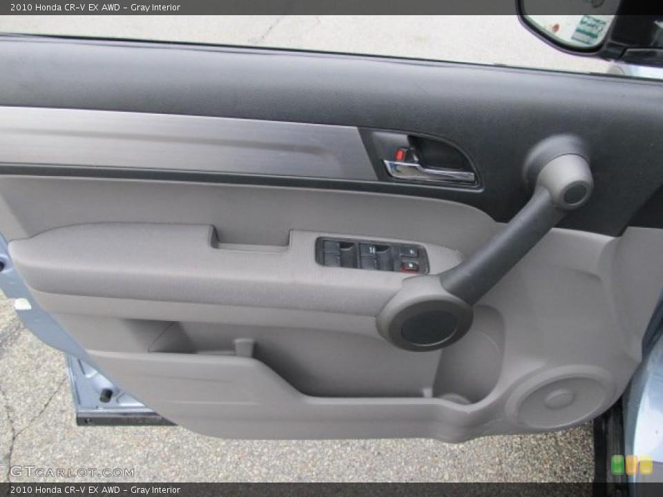 Gray Interior Door Panel for the 2010 Honda CR-V EX AWD #48055046