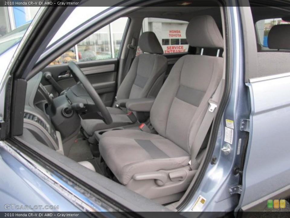 Gray Interior Photo for the 2010 Honda CR-V EX AWD #48055070