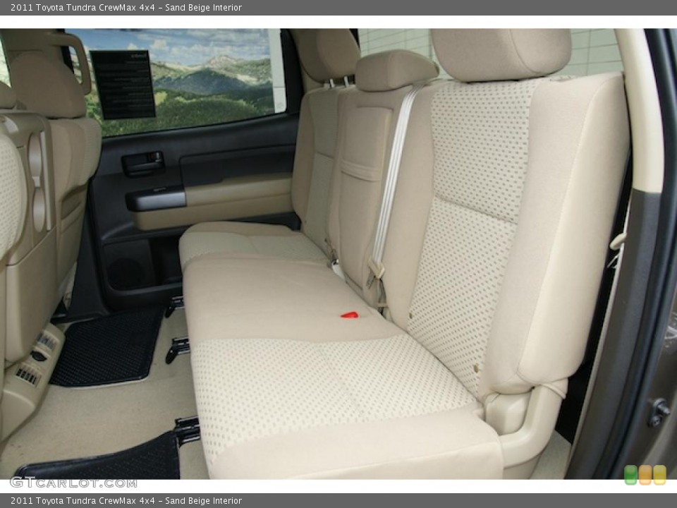 Sand Beige Interior Photo for the 2011 Toyota Tundra CrewMax 4x4 #48111663