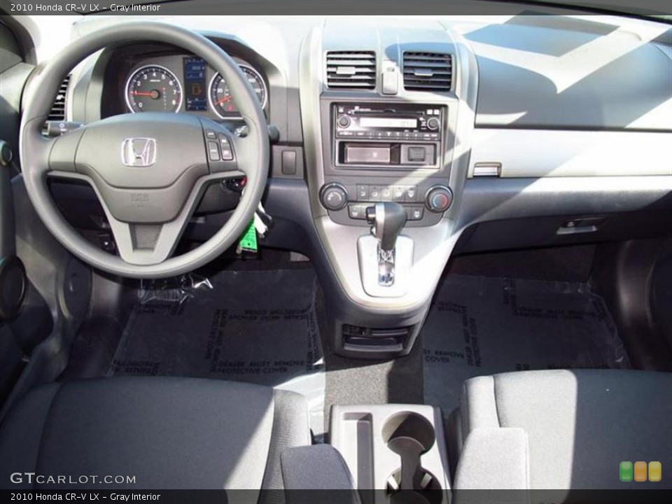 Gray Interior Dashboard for the 2010 Honda CR-V LX #48124708