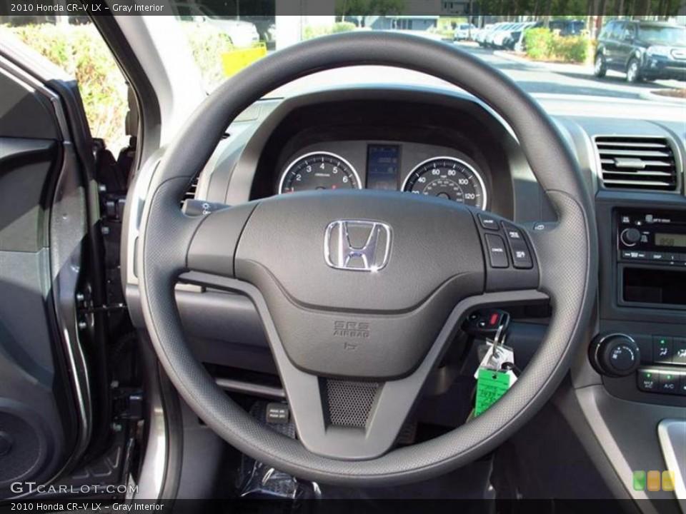 Gray Interior Steering Wheel for the 2010 Honda CR-V LX #48124801