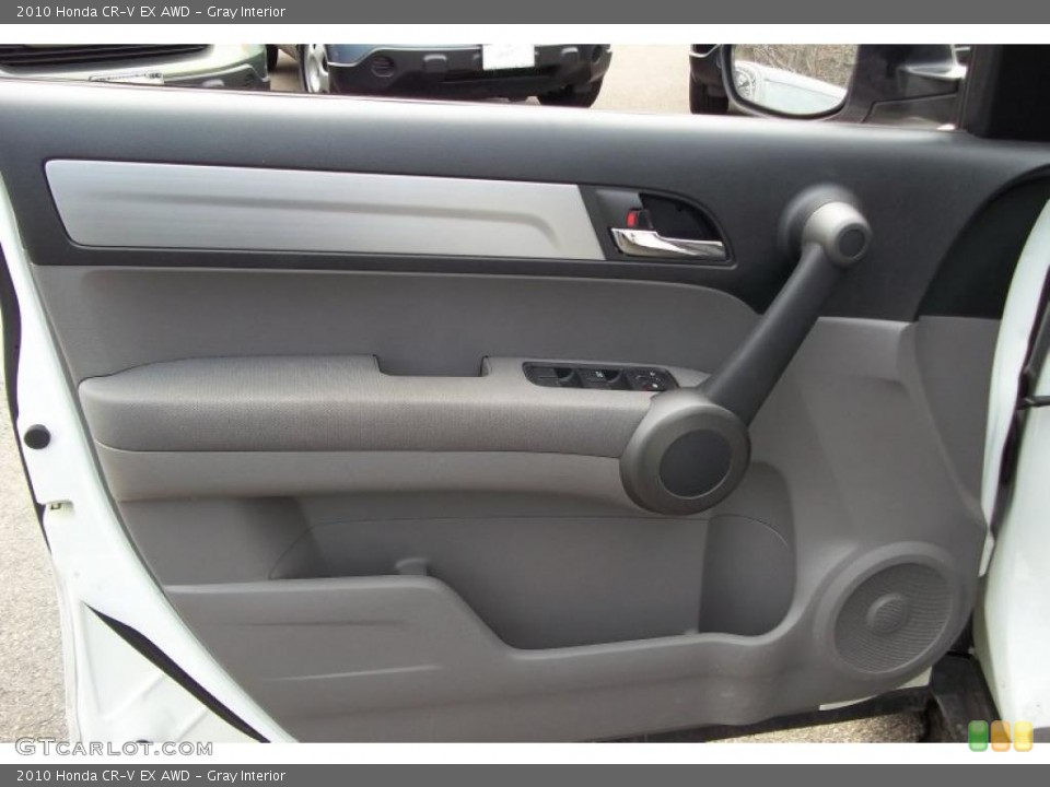 Gray Interior Door Panel for the 2010 Honda CR-V EX AWD #48152150