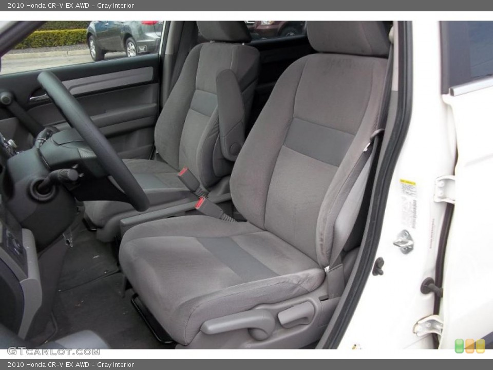 Gray Interior Photo for the 2010 Honda CR-V EX AWD #48152207
