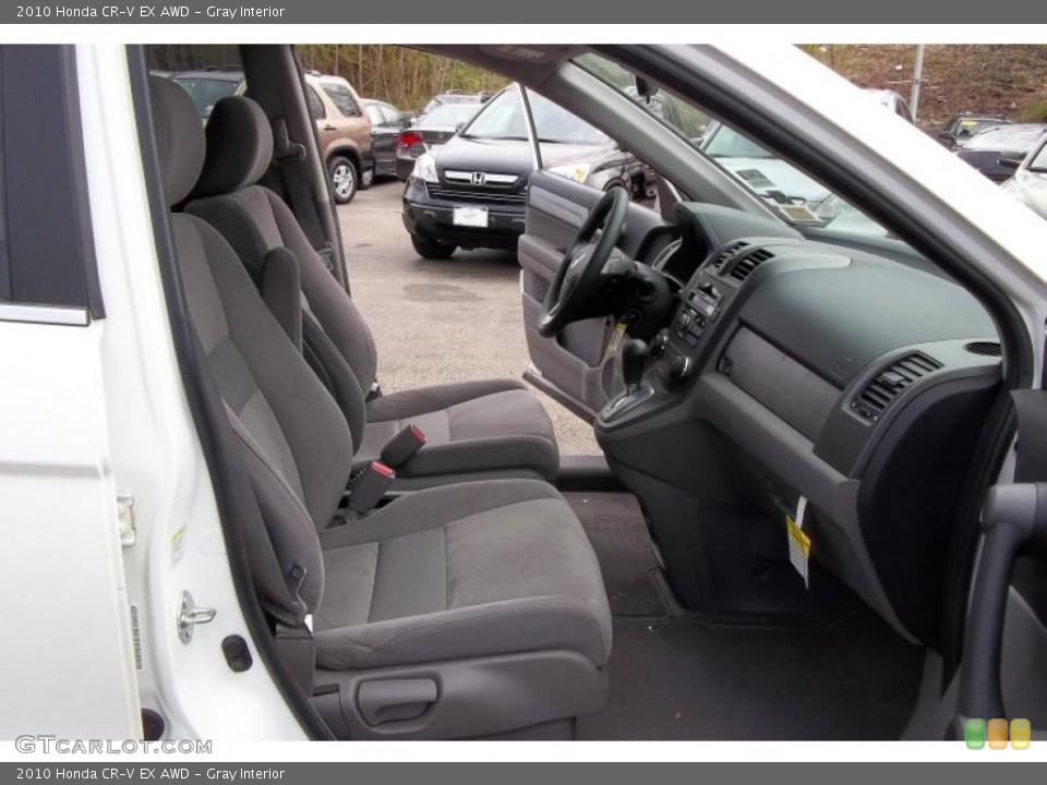 Gray Interior Photo for the 2010 Honda CR-V EX AWD #48152216