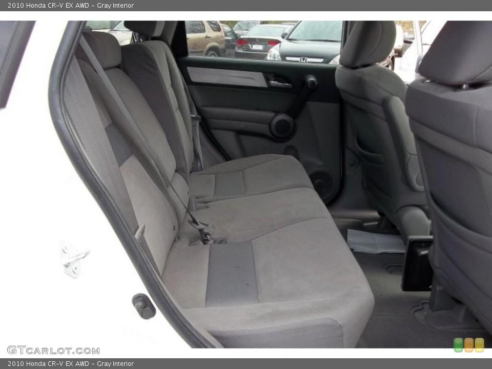 Gray Interior Photo for the 2010 Honda CR-V EX AWD #48152228