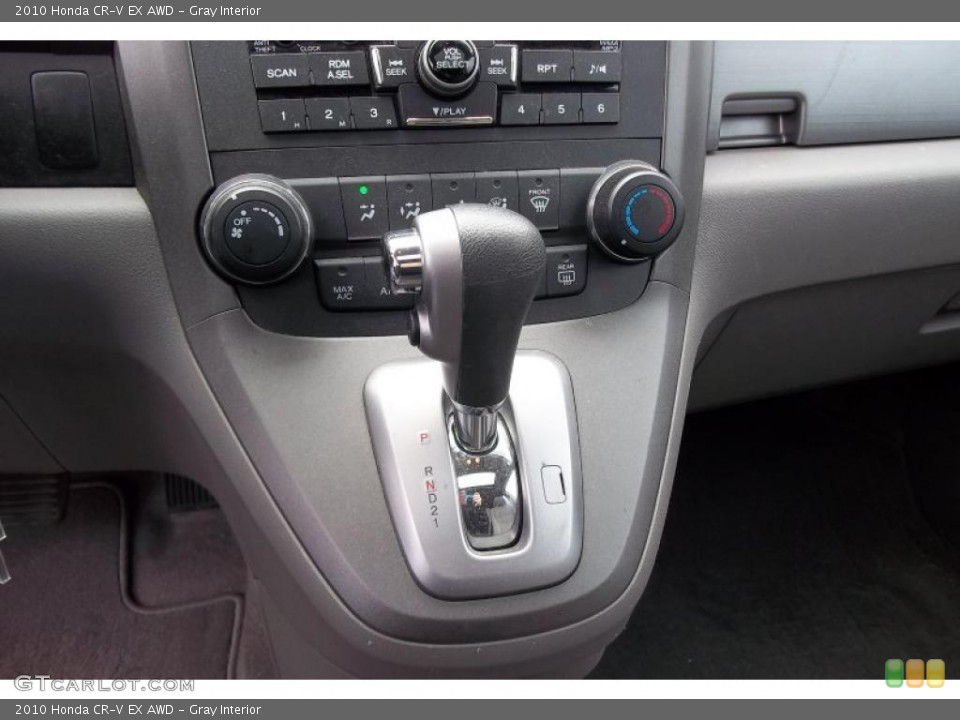 Gray Interior Transmission for the 2010 Honda CR-V EX AWD #48152270