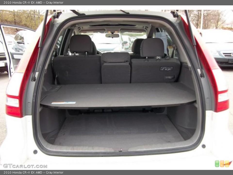 Gray Interior Trunk for the 2010 Honda CR-V EX AWD #48152285