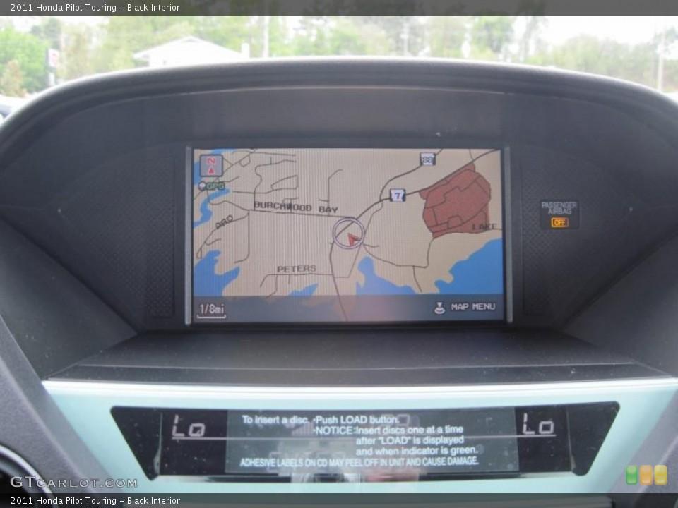 Black Interior Navigation for the 2011 Honda Pilot Touring #48165641