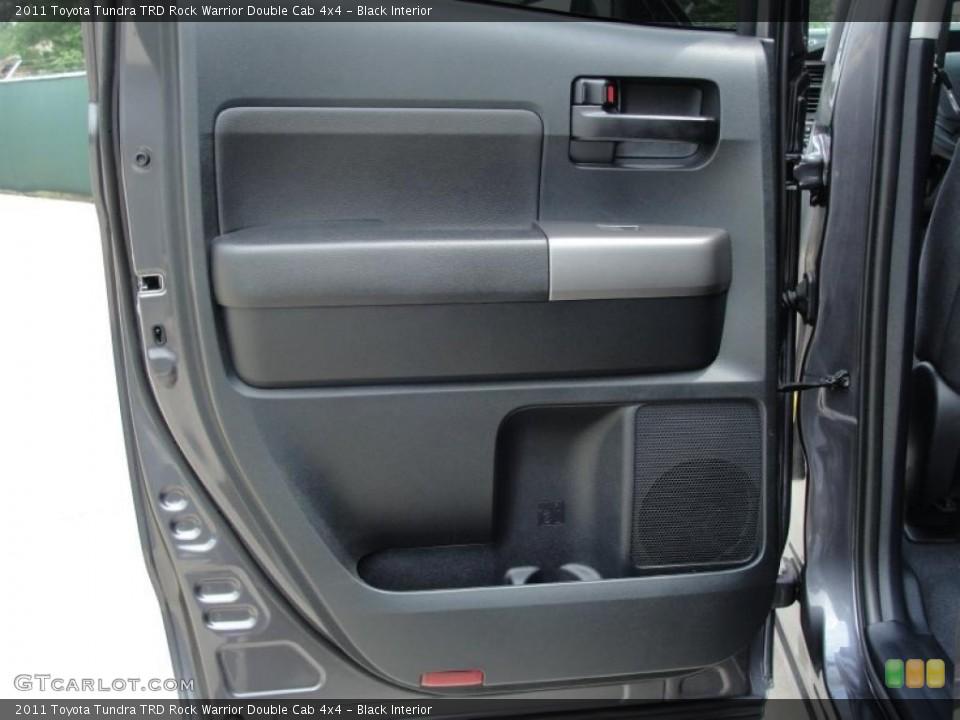 Black Interior Door Panel for the 2011 Toyota Tundra TRD Rock Warrior Double Cab 4x4 #48198514