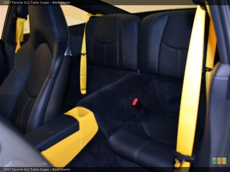 Black Interior Photo for the 2007 Porsche 911 Turbo Coupe #48277588