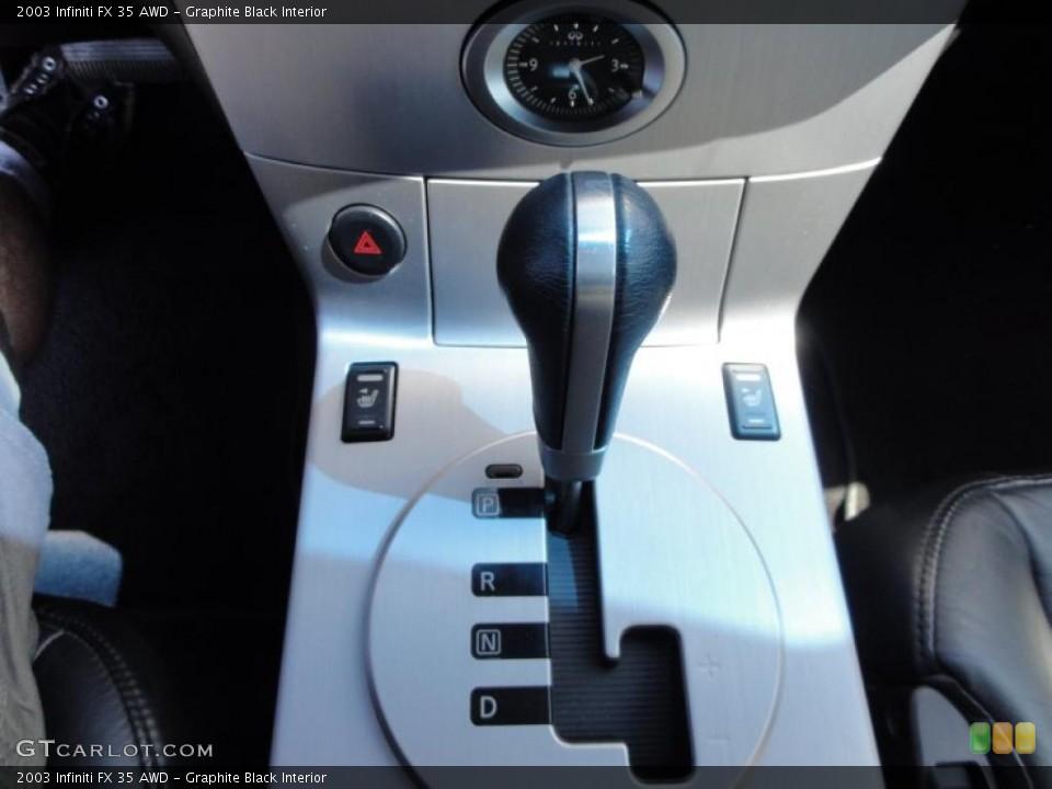 Graphite Black Interior Transmission for the 2003 Infiniti FX 35 AWD #48352369