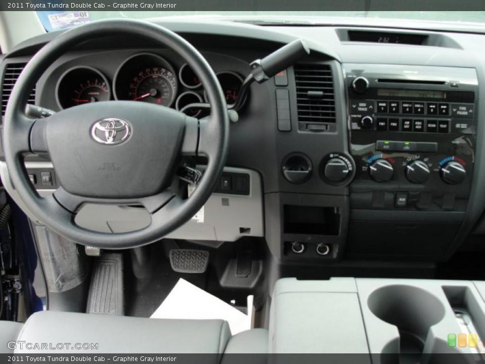 Graphite Gray Interior Dashboard for the 2011 Toyota Tundra Double Cab #48382781