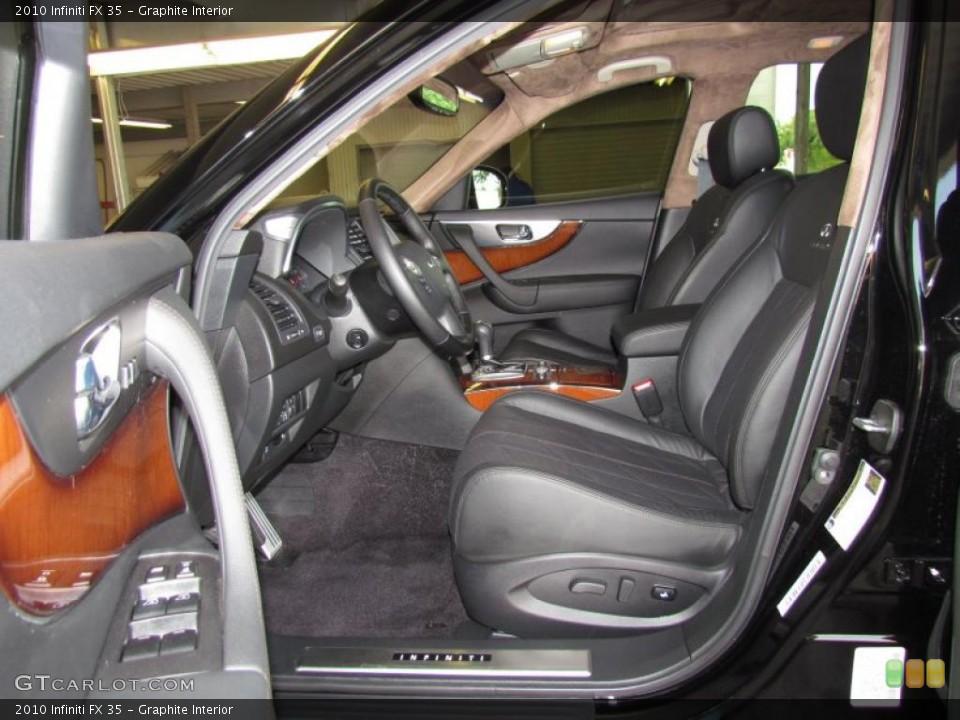 Graphite Interior Photo for the 2010 Infiniti FX 35 #48433884