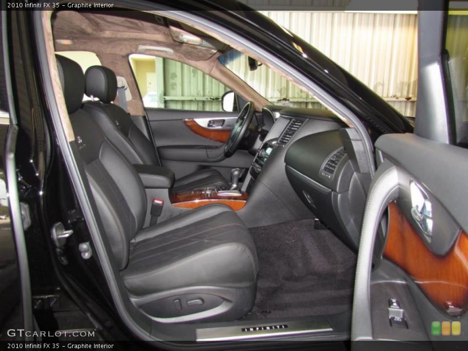 Graphite Interior Photo for the 2010 Infiniti FX 35 #48433899