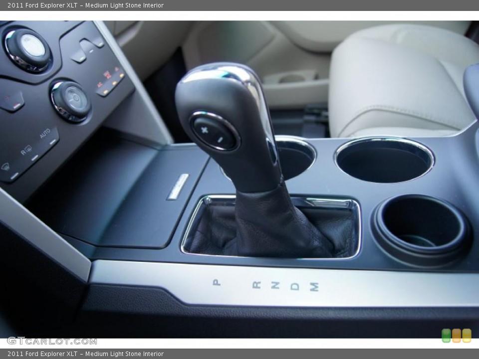 Medium Light Stone Interior Transmission for the 2011 Ford Explorer XLT #48486519