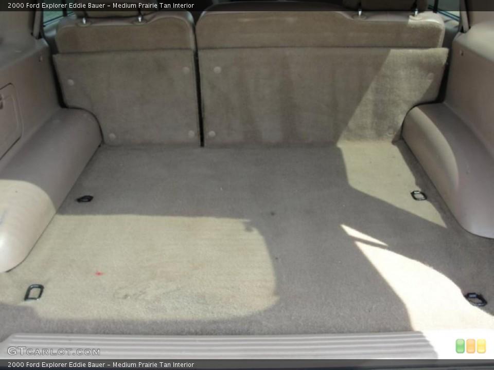 Medium Prairie Tan Interior Trunk for the 2000 Ford Explorer Eddie Bauer #48493477