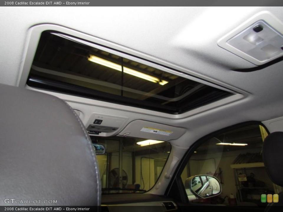 Ebony Interior Sunroof for the 2008 Cadillac Escalade EXT AWD #48508329