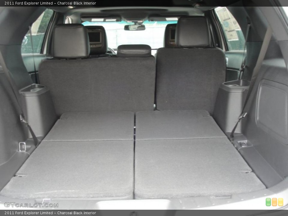 Charcoal Black Interior Trunk for the 2011 Ford Explorer Limited #48528221